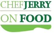 Chef Jerry on Food Logo